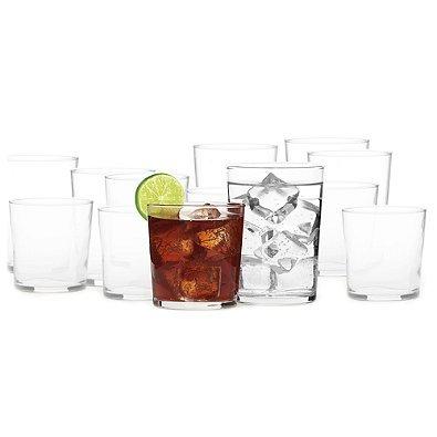 Bormioli Rocco Dailyware Bodega Glasses (Set of 16)