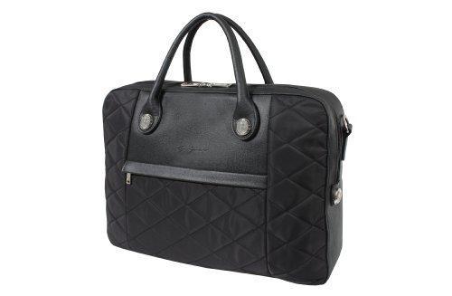 Gino Ferrari Negro acolchada para silla de montar de maleta para ordenador portátil iPad maletín Malo diseño: Amazon.es: Ropa y accesorios