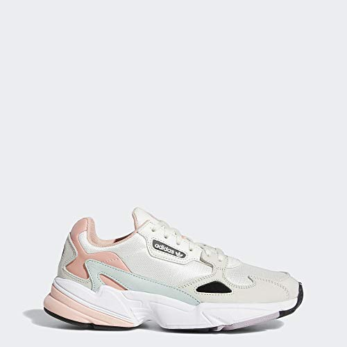 adidas Originals Women's Falcon, Tint/raw White/Trace Pink, 8 M US (Womens Addidas Tennis Shoe)