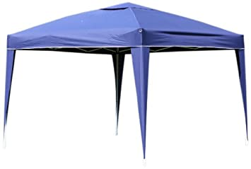 Palm Springs Outdoor Ez Pop Up Canopy New Gazebo No Sidewalls (Blue 10-  sc 1 st  Amazon.com & Amazon.com: Palm Springs Outdoor Ez Pop Up Canopy New Gazebo No ...