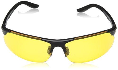 07d27e6309d4 BLUPOND Knight Visor Polarized Anti Glare HD Night Vision Glasses for  Driving - Sport Bike Protection