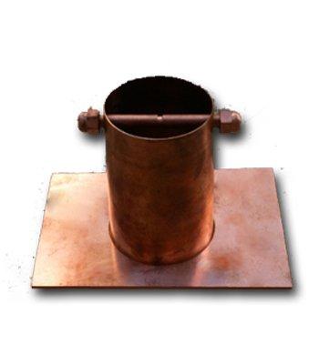 Rain Chain Copper Gutter (Lotus Rain Chain)