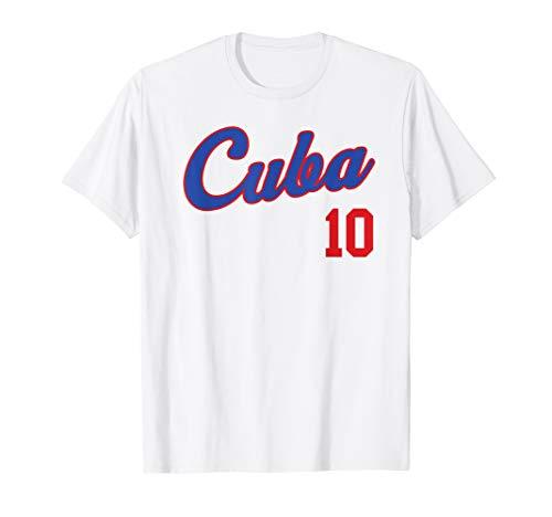 Retro Cuba Baseball T-Shirt Remera Beisbol Cuban - Baseball Cuba Jersey