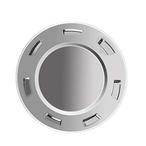 Big Autoparts Chrome Hubcaps 7 Spoke 22 Inch Wheel Center Cover Plain Crest Wheel Cap for CADILLAC ESCALADE 2007-2014
