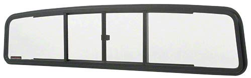 C.R. LAURENCE TSW1827 CRL Duo-Vent Four Panel Slider with Clear Glass for 1957-1960 Ford