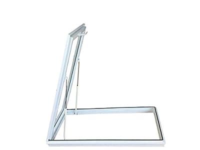Vent Skylight Sky Light Window, 4' x 2' , 22-1/2-Inch x 46-1/2-Inch,Tempered Glass