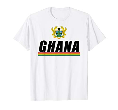 Ghanaian Black Star Of Africa Gifts Coat Of Arms Of Ghana T-Shirt