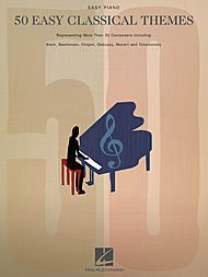 Classical Themes Easy Piano - Hal Leonard 50 Easy Classical Themes For Easy Piano