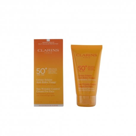 Clarins Sun Wrinkle Control Cream Very High Protection For Face UVB/UVA 50+ 75ml/2.6oz (Uva Protection High)