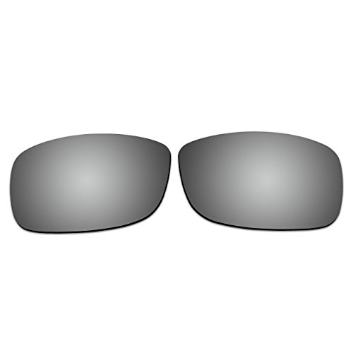ACOMPATIBLE Replacement Lenses for Ray-Ban RB4075 61mm Sunglasses (Titanium - - Rb4075 Polarized