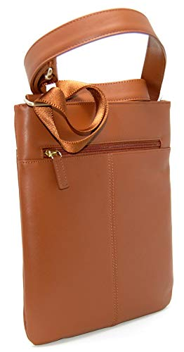Body Tan Leather Across Medium Radley Bag Top RRP Zip 00 Pocket 99 in CqpXCwfR