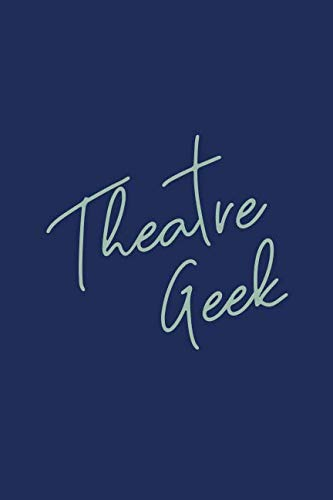 Theatre Geek: Small Dot Grid Notebook For Actors,