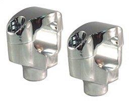 (V-Factor Shorty Riser Kit Fits 1-1/4 inch diameter handlebars FXSTC 2006-Later)