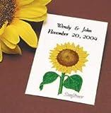 Sunflower Wedding Favors - 25 packets