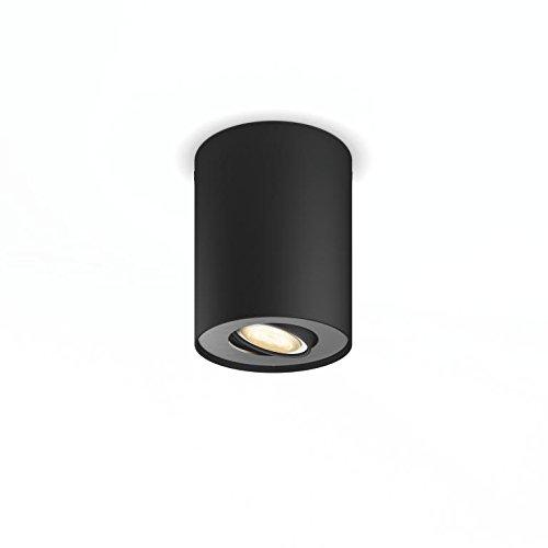 8 opinioni per Philips Hue White Ambiance Faretto Singolo LED Spot Pillar, 5.5 W Equivalente a
