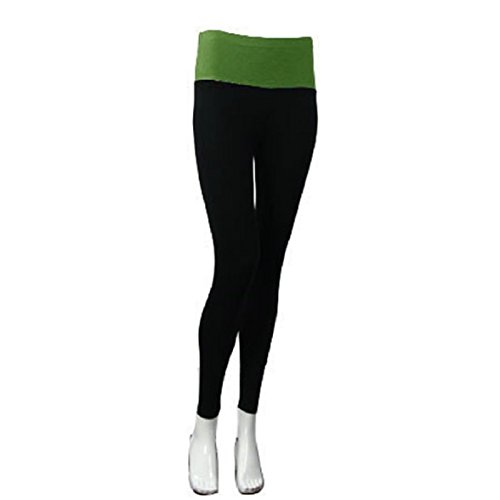 Pantalon Fitness Capri Tight Amison Modal Femme Sports 1pièce Vert Vêtements Confort Yoga q1nHz4F
