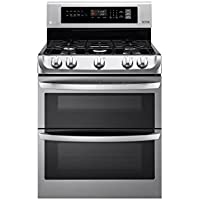 LG LDG4311ST 30 Stainless Double Oven Gas Range Convection 6.9 CuFt.
