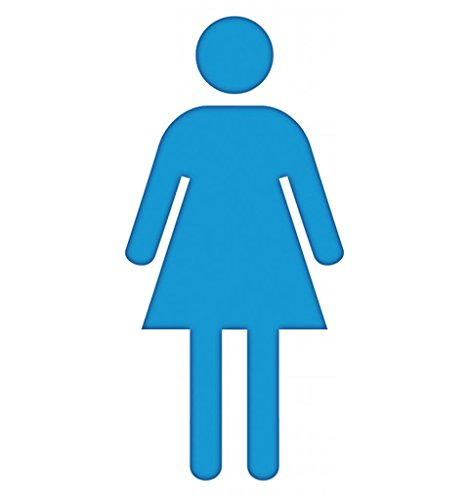 Woman Symbol - Advanced Graphics Life Size Cardboard (Stand Up Cardboard People)