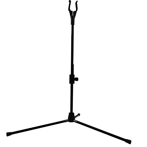 Elong Archery Bow Stands Recurve Bows Holder Bow Stand Rack Black Color