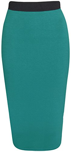 Get The Trend - Falda - para mujer Verde