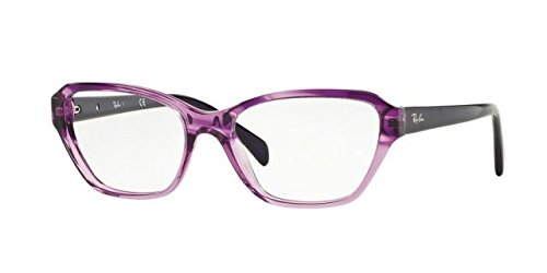 Ray-Ban - RX 5341, Cat Eye, acetate, women, STRIPED PURPLE SHADED VIOLET(5570), - 53 Ban 17 Ray