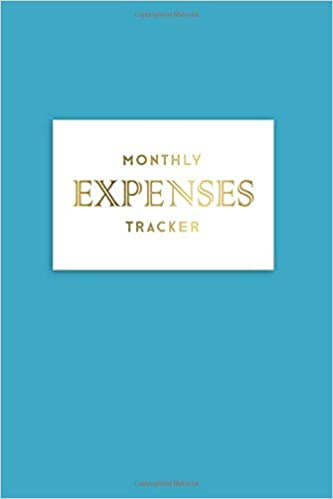 monthly expenses tracker spending tracker with finance goals on