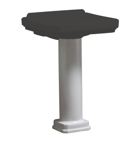 Room Collection Pedestal Column (Danze DC028110WH Pedestal Column For Cirtangular Basin, White)