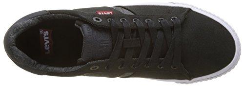 59 Black Levi's Hombre Zapatillas Skinner Regular para Noir Negro Cfx680fwq