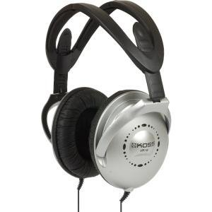 Koss Folding Home Theater Stereo Headphones (Silver/Black) by Koss