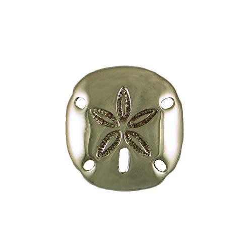 Sand Dollar Doorbell Ringer - Nickel Silver,
