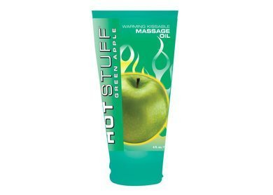 Hott Stuff Warming Oil Green Apple 6 Oz (Package Of 7)