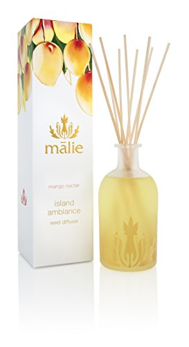 Malie Island Ambiance Reed Diffuser - Mango - Nectar Beauty Shop