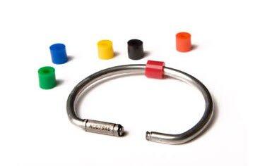 Tamper Proof Key Rings (Set of 5)