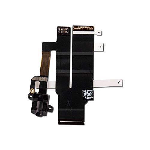 Headphone Jack with Flex Cable Compatible with iPad 2 CDMA (Black)