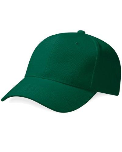 Verano verde Unisex primera grueso Beechfield Gorra de calidad green Modelo Pro 100 Forest Piscina algodón Style Visera 64xYwgqxF