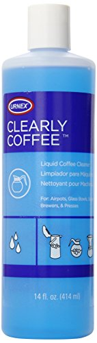 Urnex Clearly Coffee Liquid Coffee Pot Cleaner, 14-ounce (Coffee Pot Coffee compare prices)