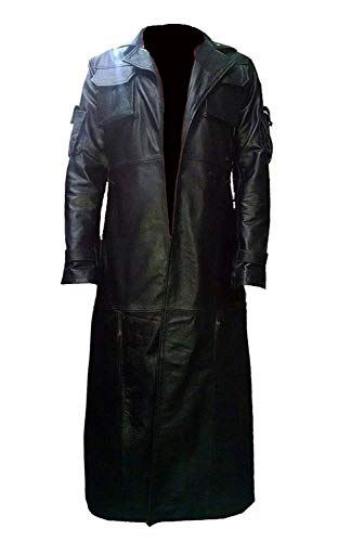 Marche Sydney - The Punisher Frank Castle Thomas Jane Leather Trench Coat (L)