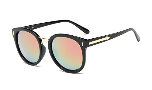 JC Polarized womens Cat-eye (Black, Light powder - How Your Polarize Sunglasses To