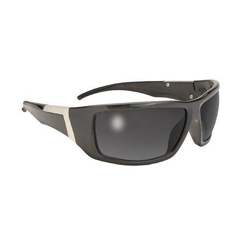 Pacific Coast Sunglass Legend 4100 Black Frame & Smoke Lens