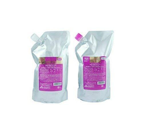 ミルボン(milbon)オージュア エクイアル シャンプー&ヘアトリートメント 1000ml」(aujua)サロン専売品 大容量※アイズのまつげコーム付き B075R9GKS6