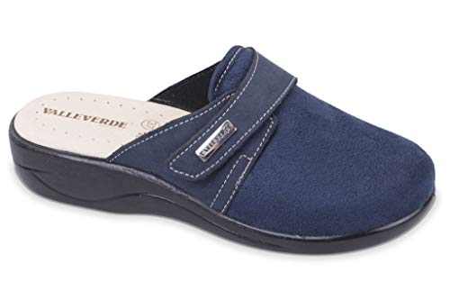 Valleverde Valleverde 37301 Blu Pantofole Donna 37301 Donna Valleverde Pantofole Pantofole Blu axwCqqZ