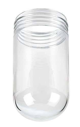 (Killark VCGP-100 Glass Globe, Clear Tempered, Thermal and Shock Resistant, 150W, 3-11/32