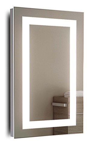 Guru Shaver LED Bathroom Mirror With Demister Pad & Sensor k160i