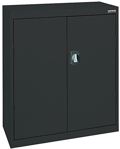 Sandusky Lee EA2R362442-09 Elite Series Counter Height Storage Cabinet, 3 Shelves, 36