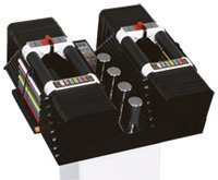 PowerBlock Elite 5-90 Lb. Set w/Silver Stand