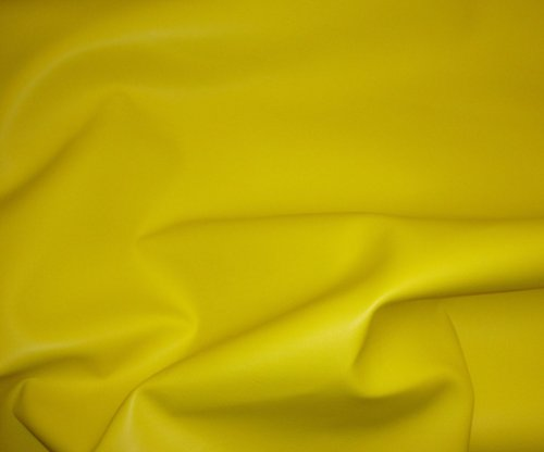 Yellow Contract Commercial Marine Grade Upholstery Vinyls Faux Leather Fabric Per Yard ()