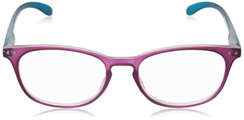 Peepers Women's Glee 098150 Oval Readers, Purple/Teal, 1.5