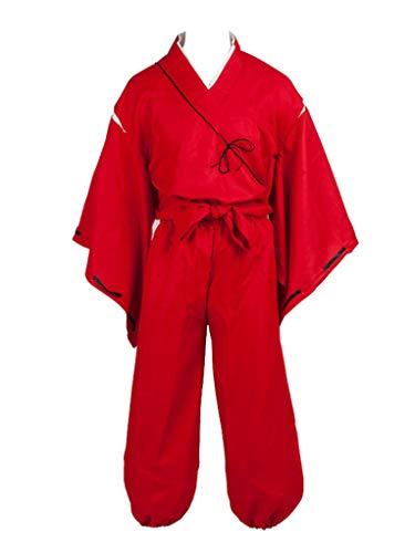 Cosfun Hero Simplified Cosplay Costume Kimono Outfit mp002405 (XXL) Red