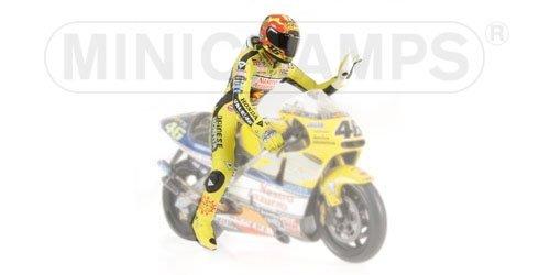Minichamps 312010046 Statuetta di Valentino Rossi GP 500 in Scala 1:12