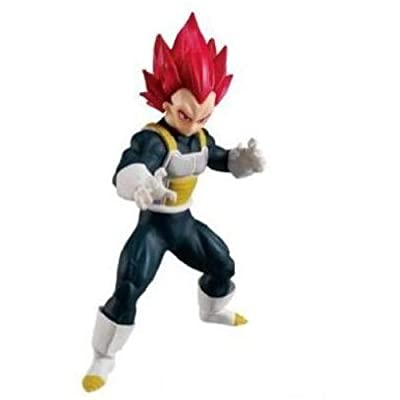 Bandai Shokugan Styling Super Saiyan God Vegeta Dragon Ball Super: Toys & Games